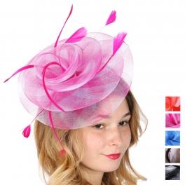Wholesale V32A Flower fascinator headband