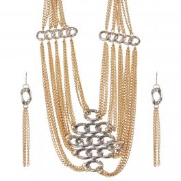 Wholesale Multi chain necklace set GRH