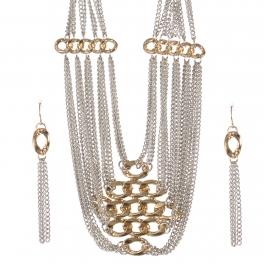 Wholesale Multi chain necklace set RHG