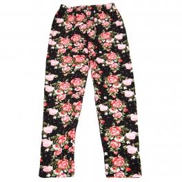 Wholesale B02A Girls print leggings TINY ROSE