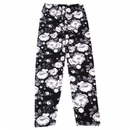 Wholesale B02A Girls print leggings FLORAL