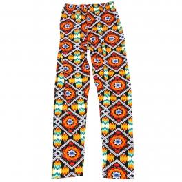 Wholesale B04A Girls print leggings ABSTRACT AZTEC