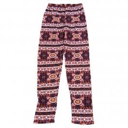 Wholesale B04A Girls print leggings STRIPE MANDALA