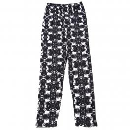 Wholesale B06B Girls print leggings TWO TONE