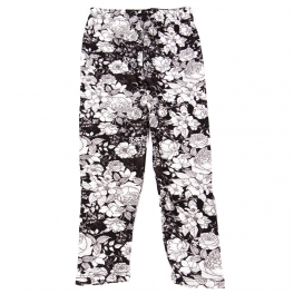 Wholesale B10B Girls print leggings FLOWER SKETCH