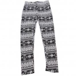 Wholesale C00 Thermal fur inside girls leggings Tribal