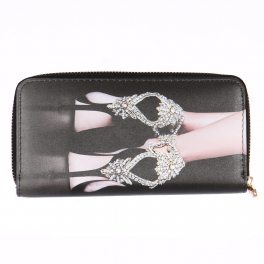 Wholesalse P18C Jewel high heel wallet