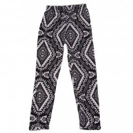 Wholesale Y00B NEW MIX Girls print leggings Diamond Black