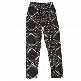 Wholesale Y00C NEW MIX Girls print leggings Diamond Green