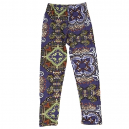 Wholesale Y00D NEW MIX Girls print leggings Purple