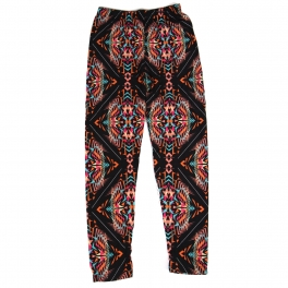 Wholesale Y01C NEW MIX Girls print leggings Abstract Black