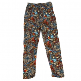 Wholesale Y02A NEW MIX Girls print leggings Abstract