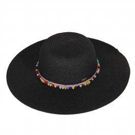 c2029d97398f60 X18 Tiny pom pom floppy hat. CODE: ST2022-1