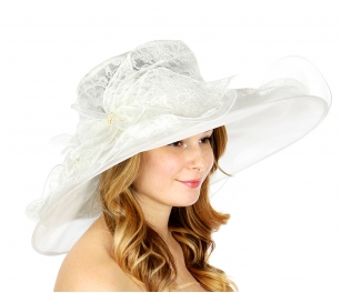 Wholesale XX00 Lace top dress hat WH
