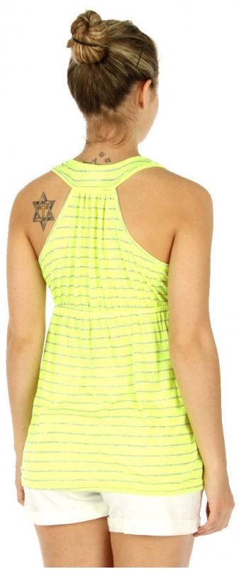 wholesale L25 Neon striped top Yellow fashionunic