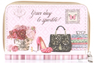Wholesale P13B Heels and purse wallet PU
