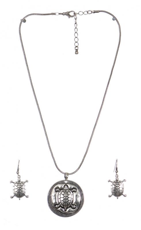Wholesale WA00 Turtle necklace set SB