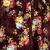 Wholesale T65A Velvet high-low dress Burgundy