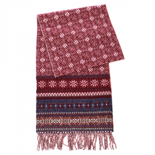 wholesale O67 Cashmere Feel Scarf 86605 Burgundy
