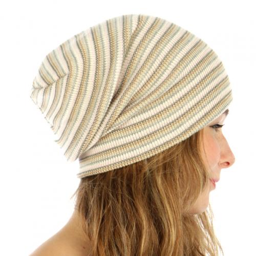 wholesale E07 Multicolored striped super stretch hat PK