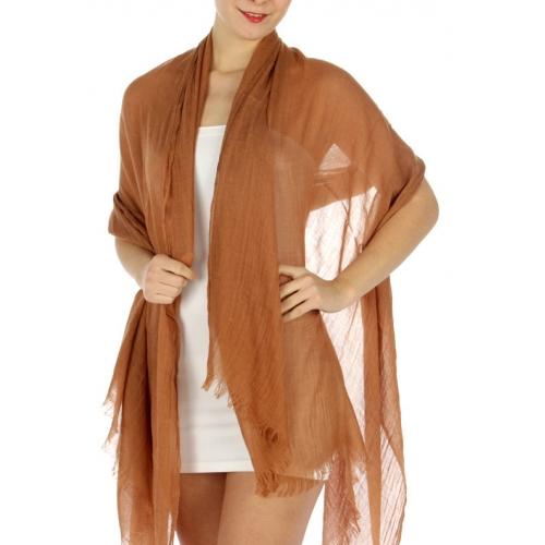 wholesale K11 Cotton long scarf Yellow fashionunic