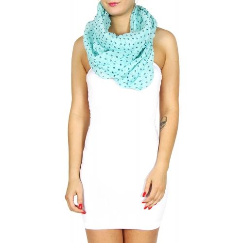 wholesale I05 Skull print scarf Black fashionunic