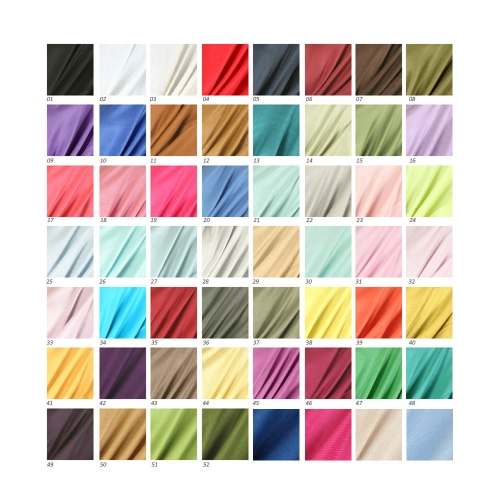 wholesale D45 Silky Solid Wedding Pashmina 48 colors
