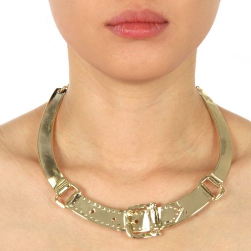wholesale N33 LC78541N Necklace Gold fashionunic