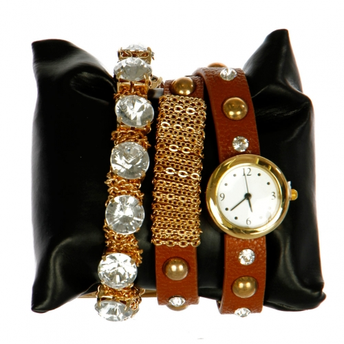 wholesale L14 1028 Arm candy watch Brown fashionunic