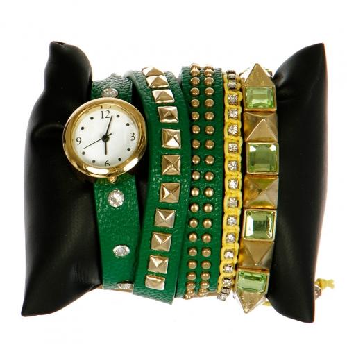 wholesale L14 1034 Arm candy watch Green fashionunic