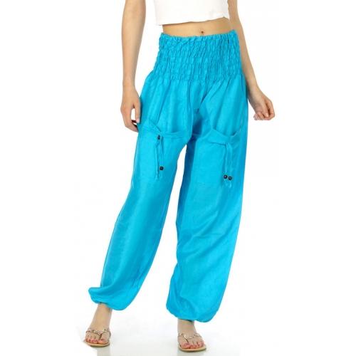 wholesale G30 Swishy harem pants Purple fashionunic