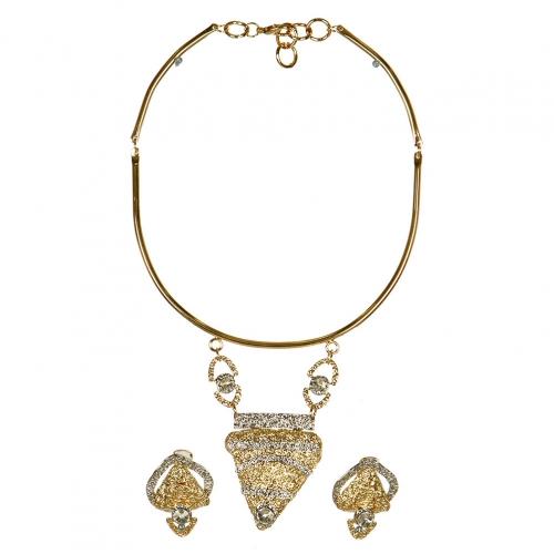 Wholesale LC7714-2 Necklace set fashionunic