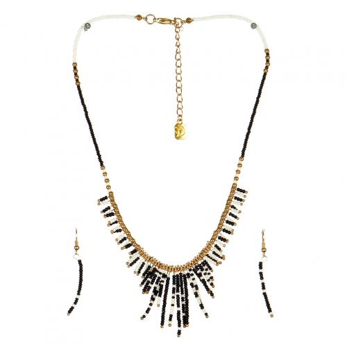 wholesale N31 FNE3456GDBW-1 Necklace Set fashionunic