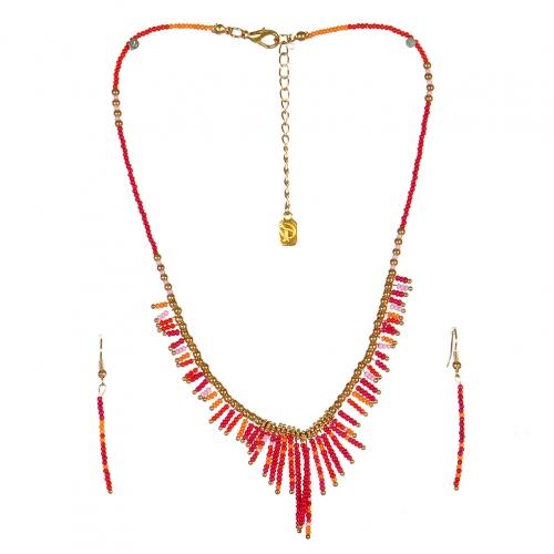 wholesale N31 FNE3456GDFUMT-2 Necklace Set fashionunic