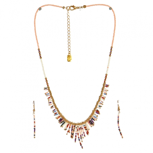 wholesale N31 FNE3456GDPEMT-4 Necklace Set fashionunic