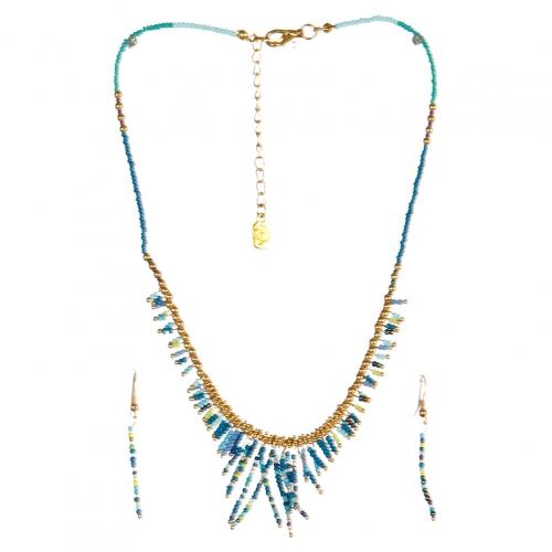 wholesale N31 FNE3456GDRYMT-5 Necklace Set fashionunic