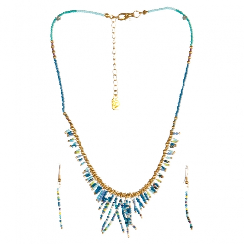wholesale N31 FNE3456GDRYMT-5 Necklace Set fashionunic