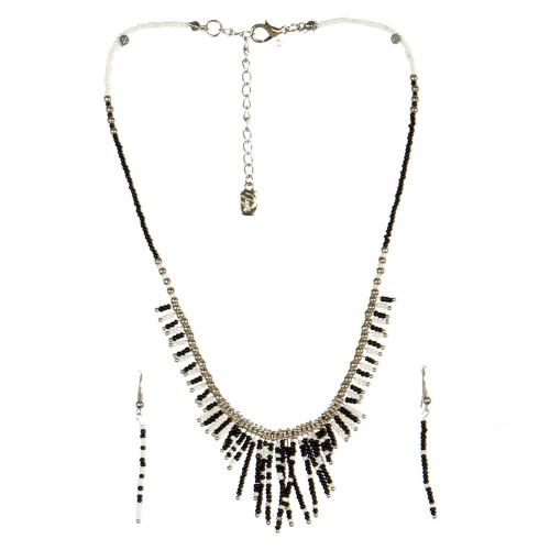wholesale N31 FNE3456RHBW-6 Necklace Set fashionunic