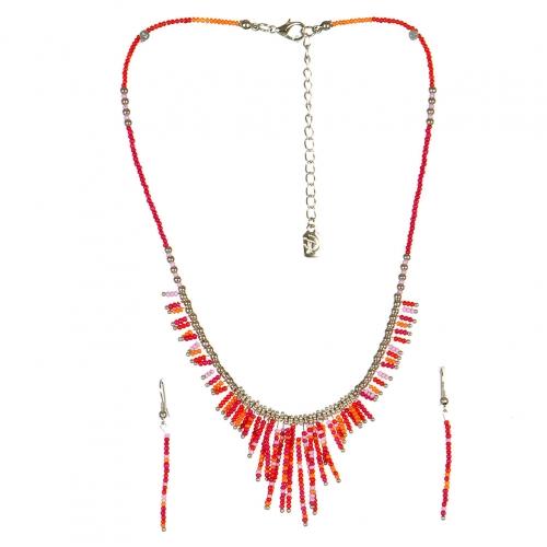 wholesale N31 FNE3456RHFUMT-7 Necklace Set fashionunic