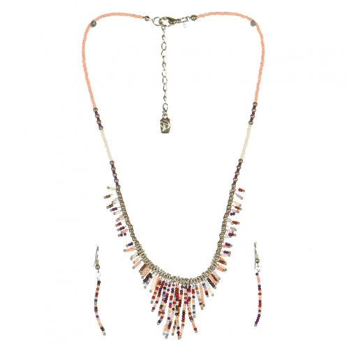 wholesale N31 FNE3456RHPEMT-8 Necklace Set fashionunic