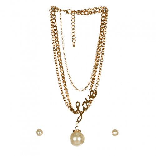 wholesale N40 Metal Necklace Set G fashionunic