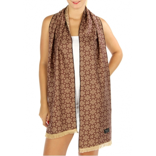 wholesale O54 Rhombus brick wool touch scarf BK