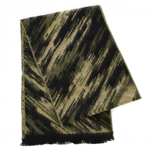 wholesale O65 Cashmere feel scarf 95501 Abstract Olive