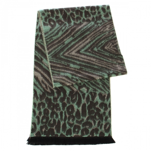 wholesale O64 Cashmere feel scarf 94001 Abstract Multi