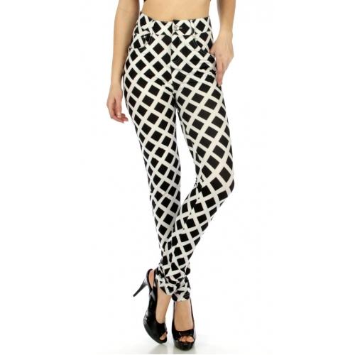 wholesale C19 Quadrangle pockets button zipper pants S