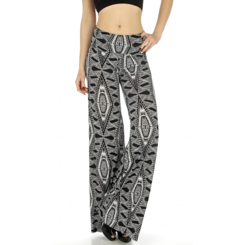 wholesale WA00 Tribal print palazzo pants fashionunic