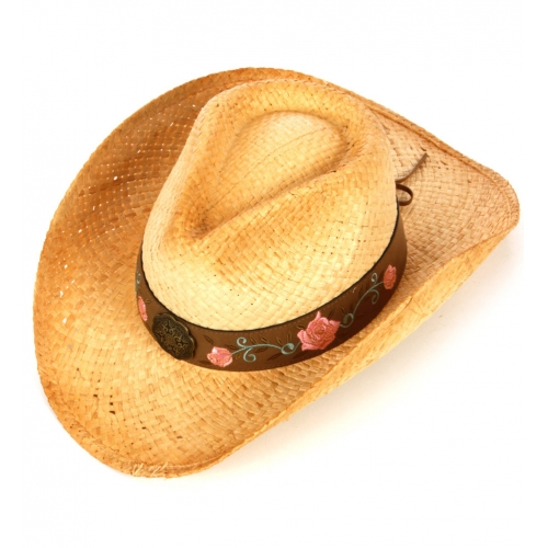 wholesale W13 leather banded cowboy hat S/M fashionunic