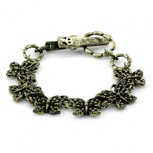 wholesale N37 Butterfly chain bracelet GB fashionunic