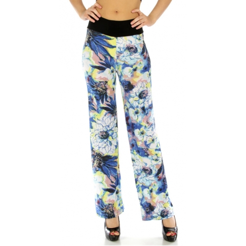 Wholesale B33 Large flower pants BL fashionunic