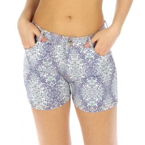 wholesale A11 Cotton blend short pants Lavender